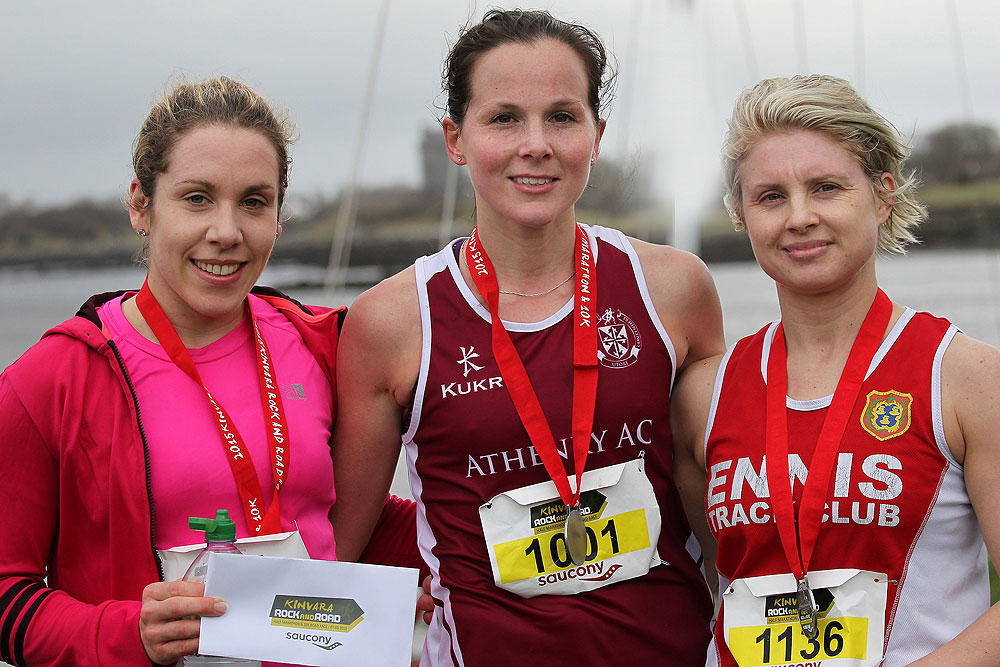 Prizes at the Kinvara Rock and Road 10K & Half Marathon