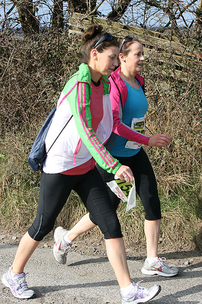 Walkers at the Kinvara Rock and Road Half Marathon & 10K