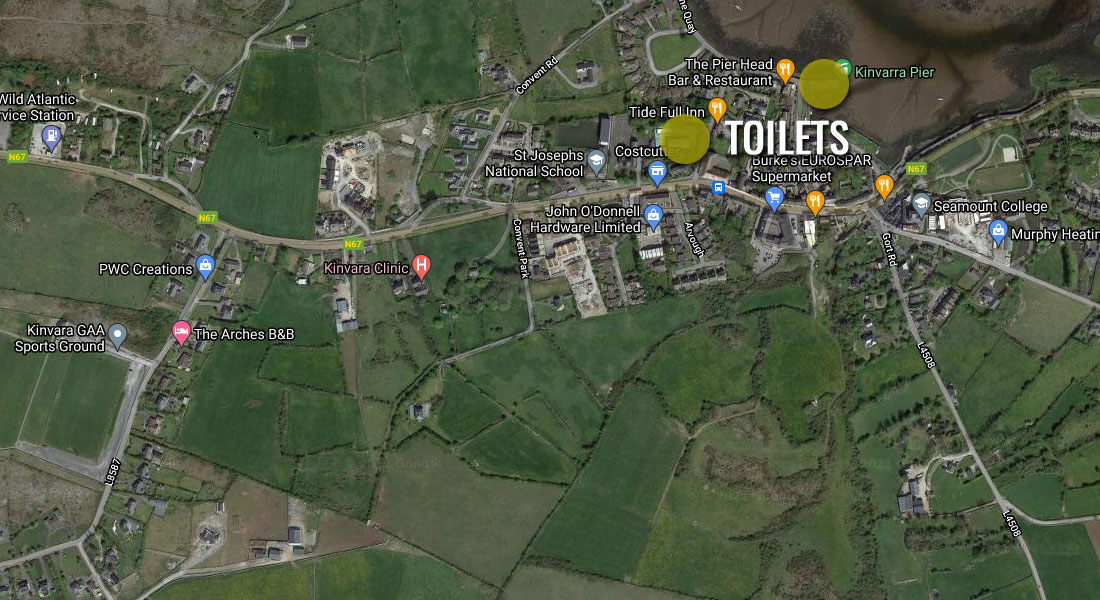 Where are the toilets?
